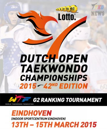 42nd LOTTO DUTCH OPEN TAEKWONDO CHAMPIONSHIPS 2015. День первый. Результаты.