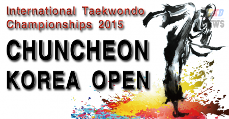 CHUNCHEON KOREA OPEN International Taekwondo Championships 2015.