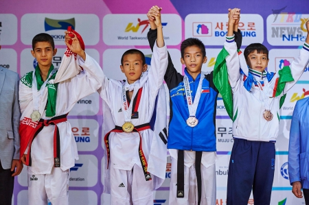 2nd WTF World Cadet Taekwondo Championships. День второй. Результаты.
