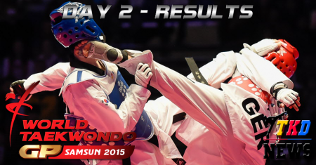 WTF World Taekwondo Grand Prix Series 2, Samsun-2015. День второй. Результаты.