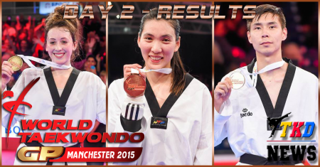 WTF World Taekwondo Grand Prix Series 3, Manchester-2015. День второй. Результаты.