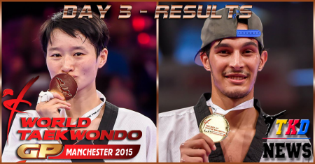WTF World Taekwondo Grand Prix Series 3, Manchester-2015. День третий. Результаты.