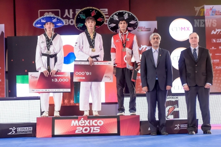 WTF World Taekwondo Grand Prix Final, Mexico-2015. День первый. Результаты.