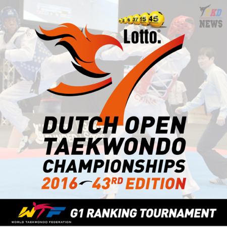 43RD LOTTO DUTCH OPEN TAEKWONDO CHAMPIONSHIPS 2016. День второй. Сетки.