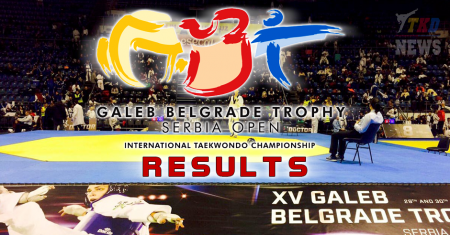15th Galeb Belgrade Trophy – Serbia Open. Результаты.