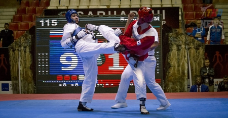 2016 WTF World Taekwondo Team Championships. День первый.