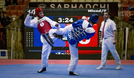 2016 WTF World Taekwondo Team Championships. День второй.