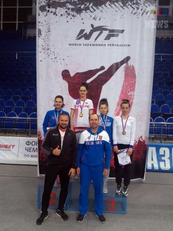 Всероссийские соревнования среди студентов по тхэквондо ВТФ, Люберцы-2017. День первый. Результаты.